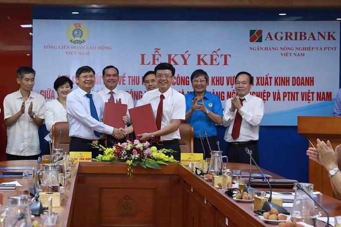 Tổng LĐLĐ Việt Nam và Ngân hàng NN-PTNT ký quy chế phối hợp để chăm lo cho đoàn viên - Ảnh 1.