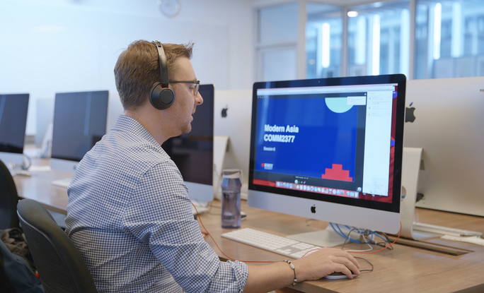 Trường ĐH chuyển qua hình thức dạy trực tuyến hoàn toàn - Ảnh 1.