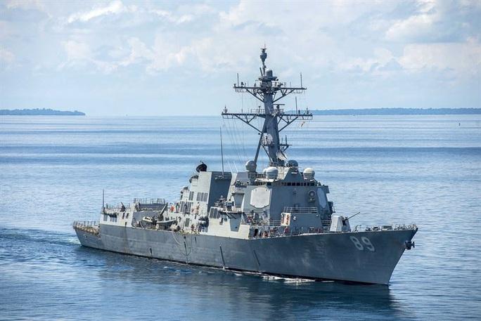 Mỹ lại điều tàu chiến đến biển Đông thách thức Trung Quốc - Ảnh 1.