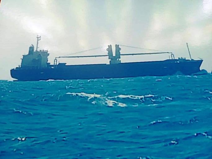 Tàu hàng nghi đâm chìm tàu cá rồi bỏ mặc ngư dân lênh đênh trên biển - Ảnh 1.
