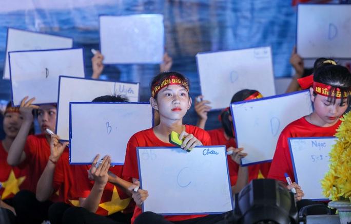 Thế hệ trẻ sôi nổi trong cuộc thi Em yêu biển, đảo quê hương - Ảnh 14.