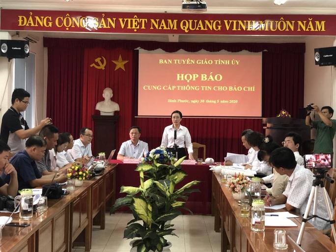 Bình Phước: Đình chỉ vụ án liênq quan đến ông Lương Hữu Phước tự tử - Ảnh 3.