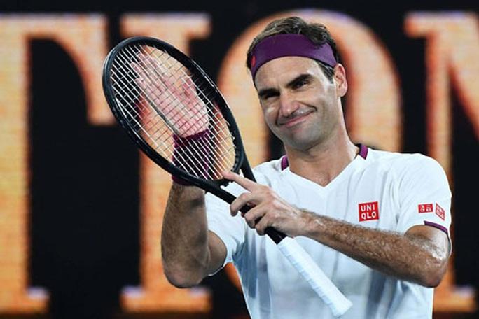 Ông già gân Roger Federer lên ngôi số 1 - Ảnh 1.