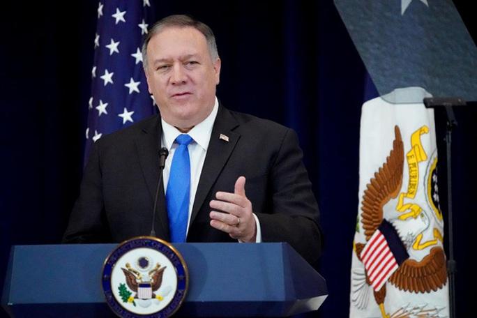 Ngoại trưởng Michael Pompeo: Mỹ mạnh mẽ phản đối hành vi bắt nạt của Trung Quốc - Ảnh 1.