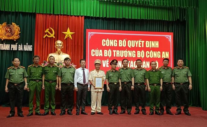 Phó giám đốc Công an Quảng Nam được điều động làm Phó giám đốc Công an Đà Nẵng - Ảnh 1.