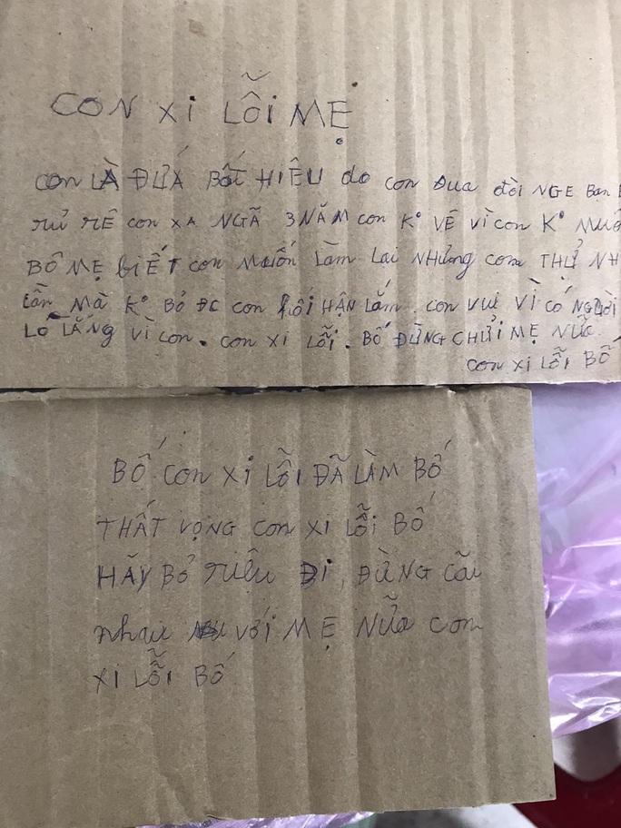 Để lại thư xin lỗi bố mẹ, nam thanh niên treo cổ tự tử - Ảnh 2.