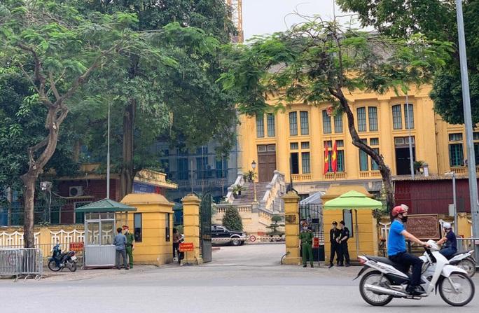 Đảm bảo an ninh tại TAND Tối cao xét xử giám đốc thẩm vụ án tử tù Hồ Duy Hải - Ảnh 1.