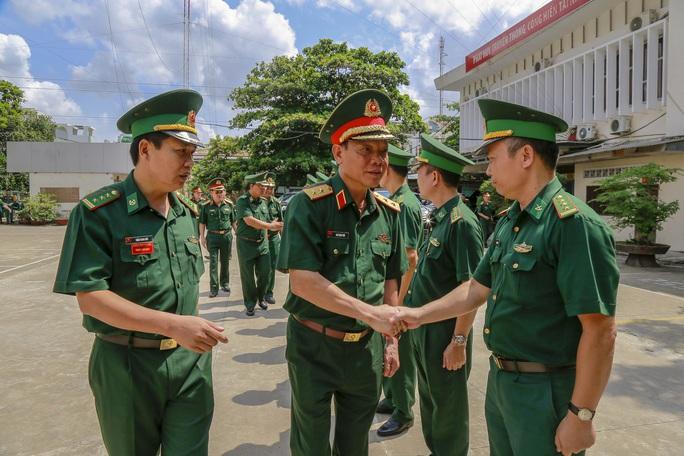 Bộ Quốc phòng kiểm tra công tác biên phòng tại TP HCM - Ảnh 1.