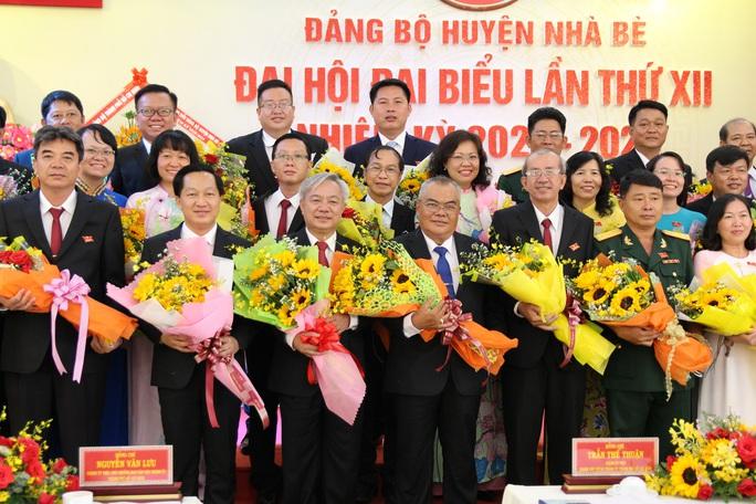 Công bố kết quả bầu nhân sự lãnh đạo Huyện ủy Nhà Bè - TP HCM - Ảnh 1.