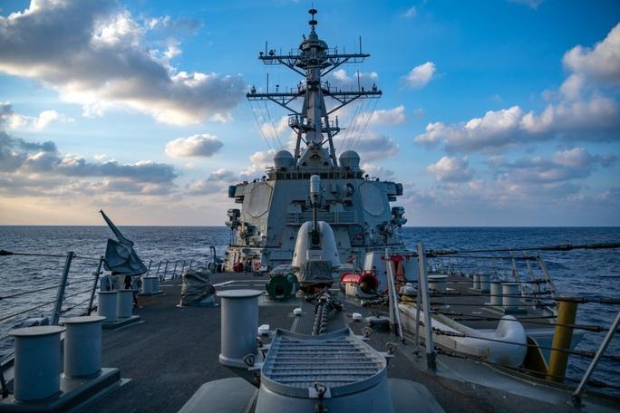 Mỹ vẫn cam kết bảo đảm an ninh biển Đông - Ảnh 1.