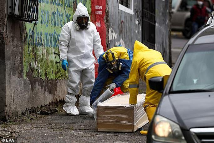 Covid-19: Hình ảnh thương tâm trên đường phố Ecuador - Ảnh 2.