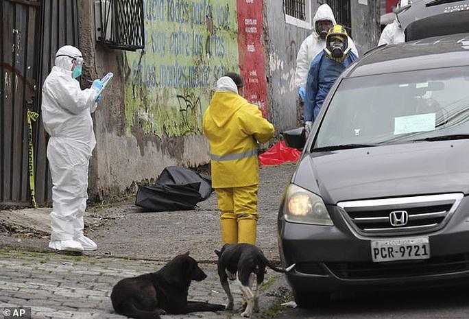 Covid-19: Hình ảnh thương tâm trên đường phố Ecuador - Ảnh 5.