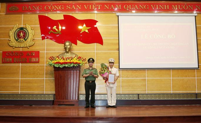 Quảng Bình có tân phó giám đốc Công an tỉnh  - Ảnh 1.