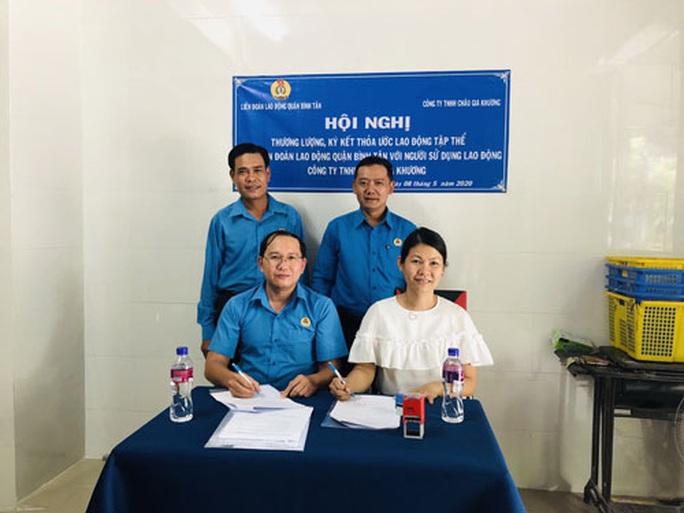 Công ty TNHH Châu Gia Khương: Người lao động hưởng lợi từ thỏa ước - Ảnh 1.