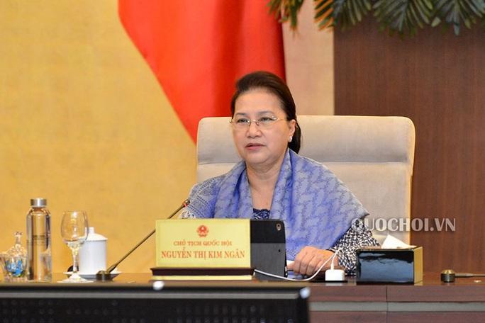Chủ tịch Quốc hội Nguyễn Thị Kim Ngân: ATM gạo trên thế giới chưa bao giờ có - Ảnh 1.