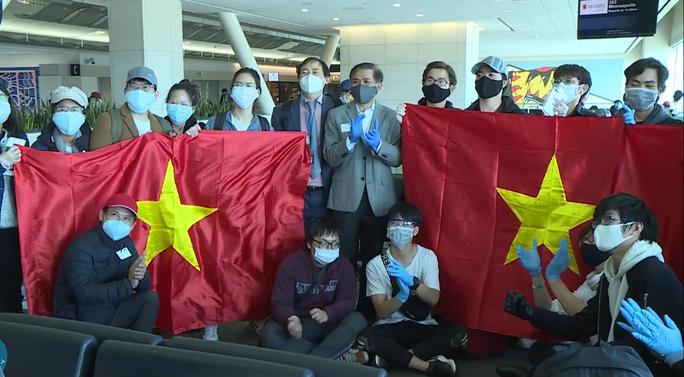 Đằng sau chuyến bay đầu tiên từ Mỹ đưa 343 người Việt về nước - Ảnh 2.