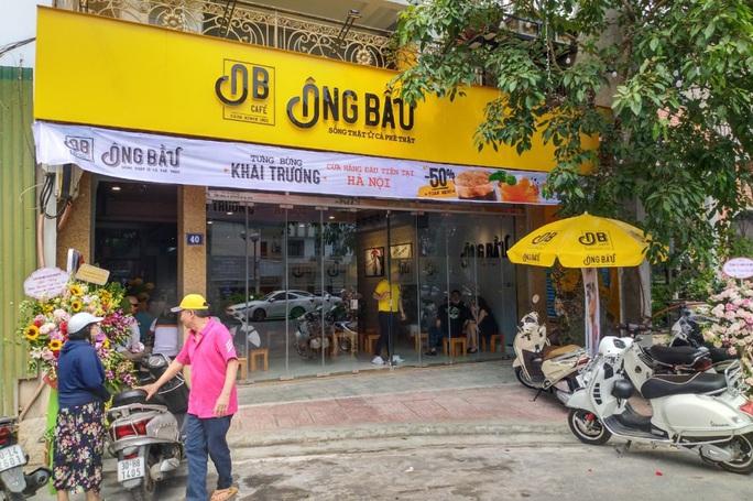 Cà phê Ông Bầu khai trương cửa hàng đầu tiên tại Hà Nội  - Ảnh 1.