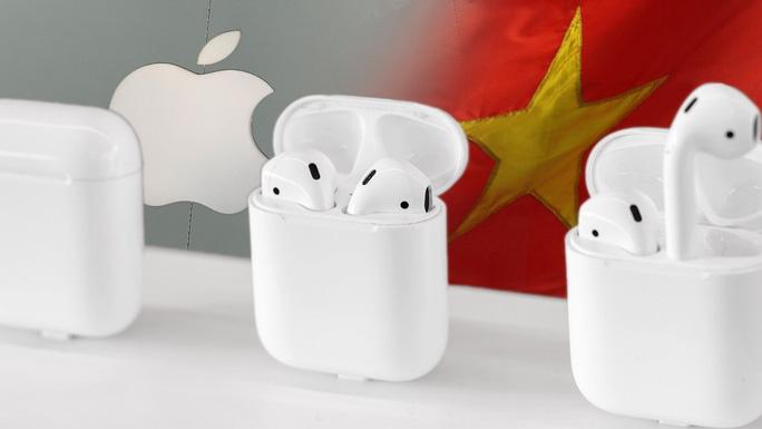 Apple sẽ sản xuất hàng triệu tai nghe AirPods tại Việt Nam - Ảnh 1.