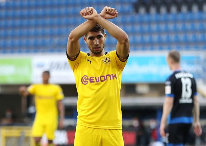 Jadon Sancho: Siêu hat-trick và kỷ lục sao trẻ Dortmund - Ảnh 6.