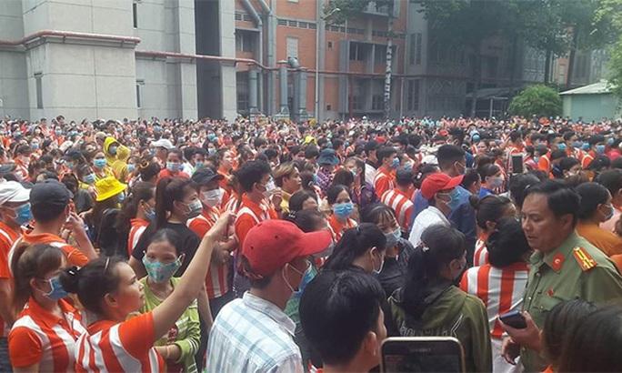 Vì sao 8.000 công nhân Công ty TNHH Chí Hùng đình công? - Ảnh 1.