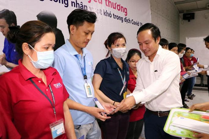 CEP hỗ trợ vốn cho công nhân khó khăn - Ảnh 1.