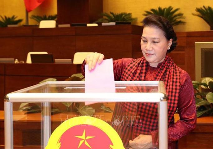 Chủ tịch Quốc hội Nguyễn Thị Kim Ngân làm Chủ tịch Hội đồng Bầu cử quốc gia - Ảnh 1.