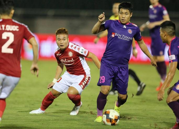 Công Phượng thất bại trận derby Sài thành, ĐKVĐ Hà Nội bị tân binh cầm hòa đáng tiếc - Ảnh 5.