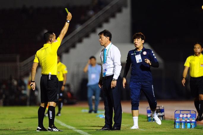 Công Phượng thất bại trận derby Sài thành, ĐKVĐ Hà Nội bị tân binh cầm hòa đáng tiếc - Ảnh 3.
