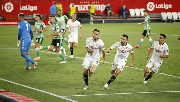 Ronaldo Argentina lập công, Sevilla thắng tưng bừng ngày La Liga trở lại - Ảnh 3.