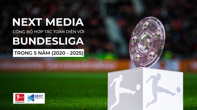 Next Media hợp tác toàn diện với Bundesliga trong 5 năm - Ảnh 1.
