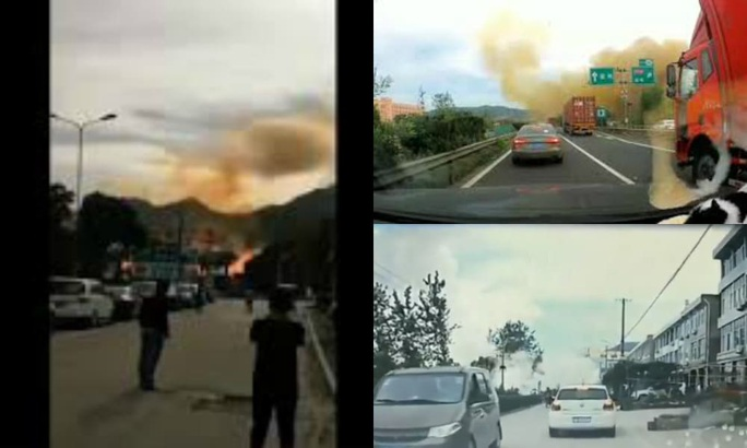 Trung Quốc: Xe bồn chở dầu nổ kinh hoàng, gần 140 người thương vong - Ảnh 4.