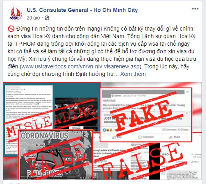 Không có việc Mỹ ngừng cấp visa cho du học sinh Việt Nam - Ảnh 1.