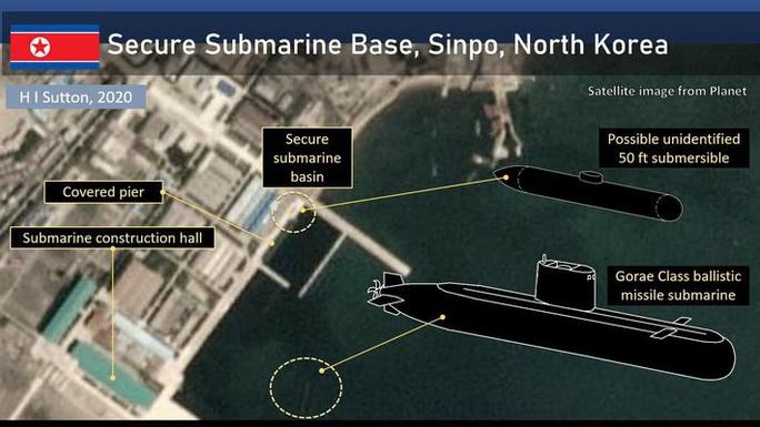 """Phát hiện """"tàu ngầm bí ẩn"""" ở Triều Tiên - Ảnh 1."""