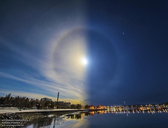 Cận cảnh những hào quang lạ quanh mặt trời, mặt trăng khắp thế giới - Ảnh 2.