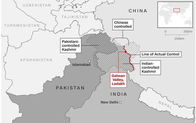 Ấn Độ - Trung Quốc đụng độ dữ dội ở biên giới: 3 quân nhân thiệt mạng - Ảnh 1.