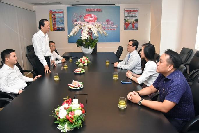 Nhiều cơ quan, đơn vị chúc mừng Báo Người Lao Động nhân Ngày Báo chí Cách mạng Việt Nam - Ảnh 1.