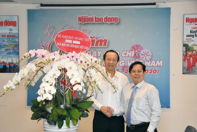 Nhiều cơ quan, đơn vị chúc mừng Báo Người Lao Động nhân Ngày Báo chí Cách mạng Việt Nam - Ảnh 2.