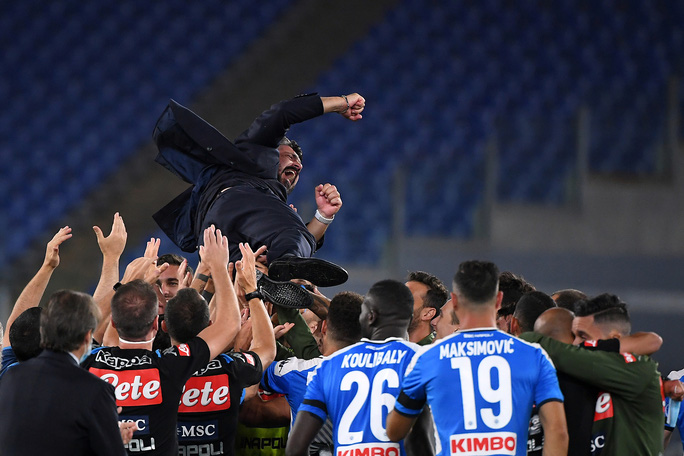 Ronaldo tịt ngòi, Juventus gục ngã ở chung kết Coppa Italia - Ảnh 7.