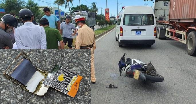 Nam thanh niên nghi phê ma túy, tự gây tai nạn rồi tấn công nhân viên cấp cứu - Ảnh 2.