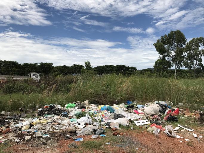 Đà Nẵng: Bãi rác tự phát gây ô nhiễm nặng - Ảnh 3.