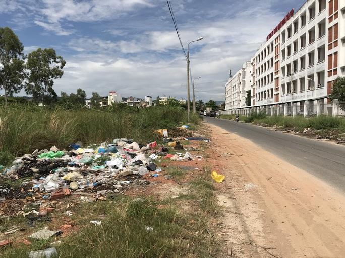 Đà Nẵng: Bãi rác tự phát gây ô nhiễm nặng - Ảnh 2.