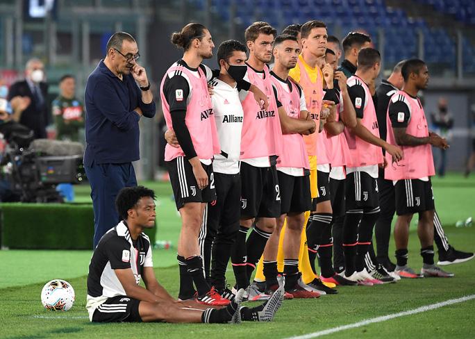 Ronaldo tịt ngòi, Juventus gục ngã ở chung kết Coppa Italia - Ảnh 4.