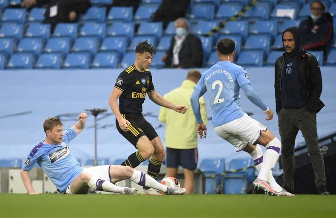 Thay người tệ hại, Arsenal thảm bại vì phản đồ trước Man City - Ảnh 3.