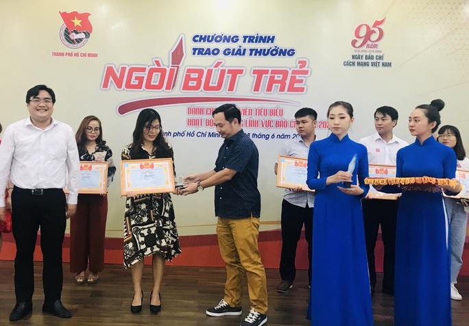 Thành đoàn TP HCM tuyên dương 24 cá nhân đạt giải thưởng Ngòi bút trẻ năm 2020 - Ảnh 2.
