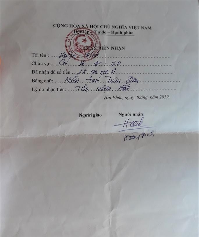 Xã buộc dân nộp tiền để trả nợ quán xá - Ảnh 3.