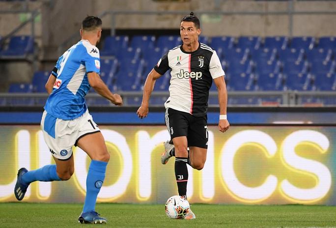 Ronaldo tịt ngòi, Juventus gục ngã ở chung kết Coppa Italia - Ảnh 3.