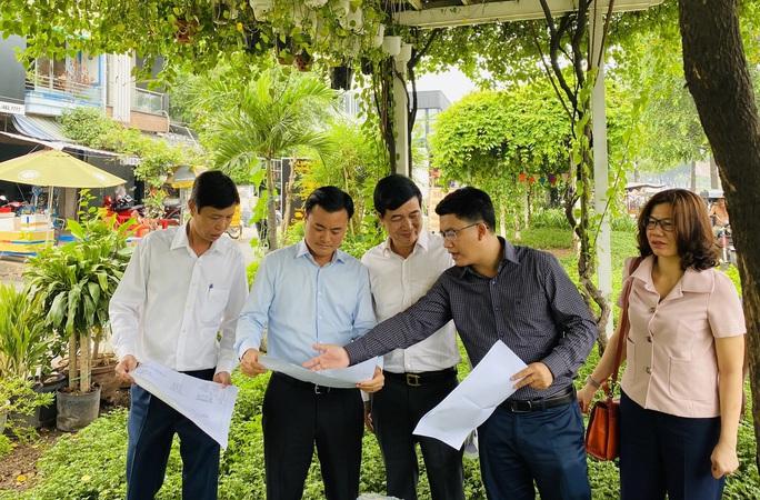 Tuyến metro Bến Thành - Tham Lương  bắt đầu nhận mặt bằng - Ảnh 1.
