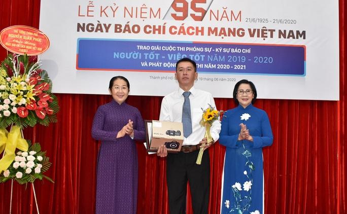 """Tác phẩm về chân dung một nguyên lãnh đạo TP HCM đoạt giải nhất cuộc thi """"Người tốt - Việc tốt"""" - Ảnh 1."""