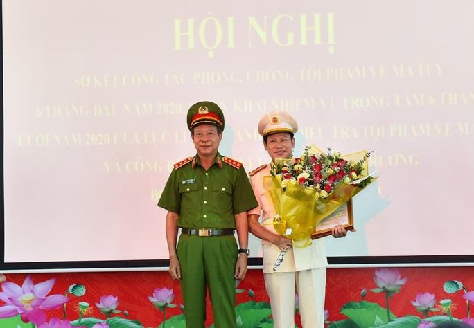 Phó giám đốc công an Hà Nội giữ chức Cục trưởng Cục Cảnh sát điều tra tội phạm về ma túy - Ảnh 1.