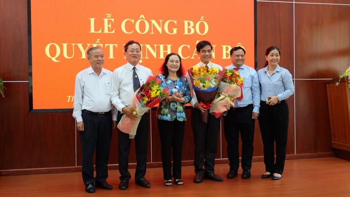TP HCM: Ông Trương Quốc Lâm giữ chức vụ Bí thư Quận ủy quận 11 - Ảnh 1.